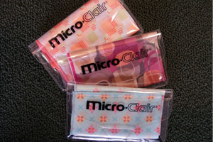 Micro-fiber Cleaning Cloths | The Eye Shoppe | The Eye Store | Optometrist
